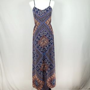 Anthropologie Skies are blue Strappy Maxi Dress